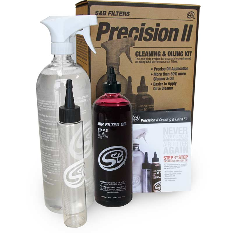 S&B Filters Precision II Air Filter Cleaning Kit