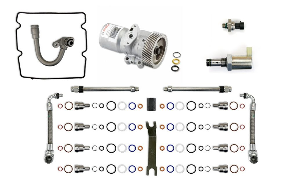 TrackTech HPOP High Pressure Oil Pump System Rebuild Kit for 2003-2004 Ford Powerstroke 6.0L