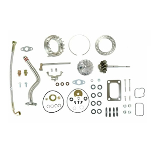 HE351VE Turbo Rebuild Kit Gaskets Lines Shaft VGT Billet For 07.5-12 6.7L Ram