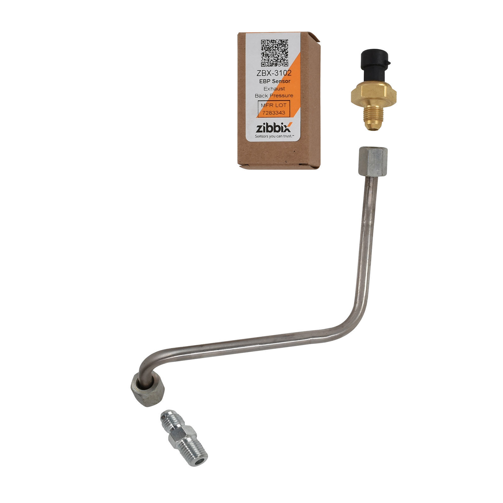 Zibbix ZBX-3102-TK4 EBP Exhaust Back Pressure Sensor Tube Kit For 05.5-10 6.0L Ford Powerstroke Diesel