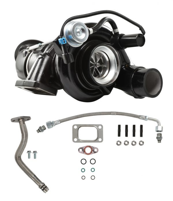 5.9L 04.5-07 Dodge Ram HE351CW Turbocharger With Billet Wheel Black