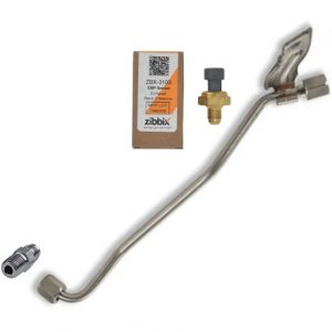 Zibbix ZBX-3103-TK5 EBP Exhaust Back Pressure Sensor Tube Kit For 08-10 6.4L Ford Powerstroke Diesel
