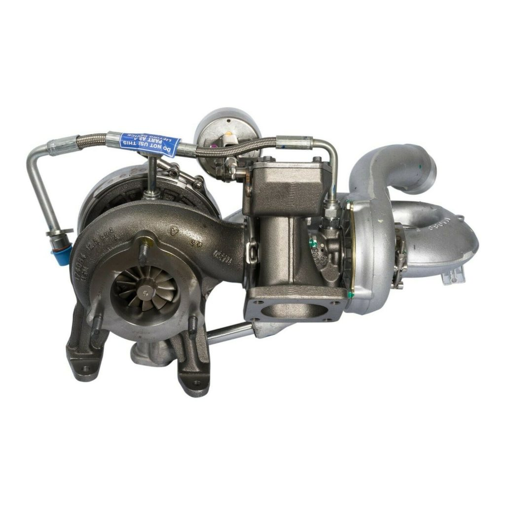 BorgWarner Reman Turbocharger Set for 04-05 4.5L Navistar MaxxForce 5