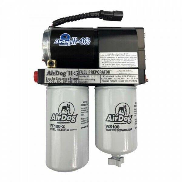 AirDog II-4G DF-100 Fuel Air Separation System for 15-16 LML Duramax