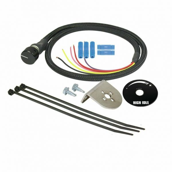 BD Diesel High Idle Switch Kit for 05-16 6.0L 6.4L 6.7L Ford Powerstroke