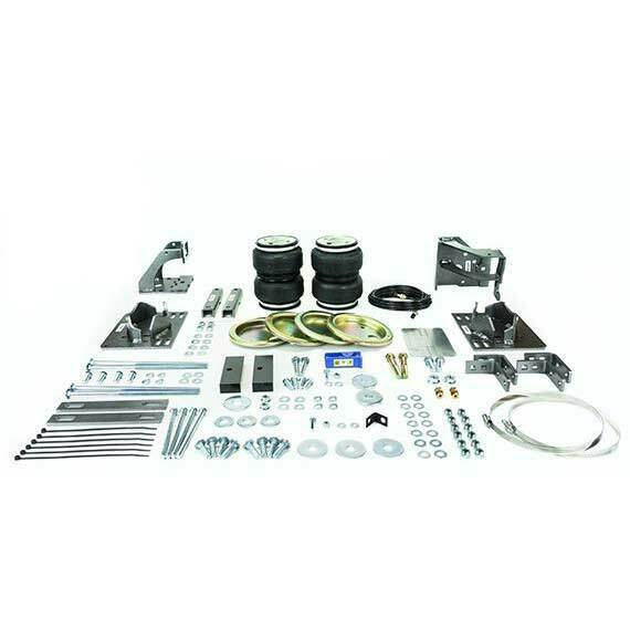 Pacbrake AMP Air Spring Kit for F-250 F-350 F-450 4WD 11-16 6.7L Powerstroke