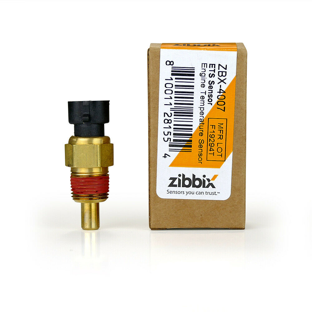 Zibbix ECT Engine Coolant Temperature Sensor for 01-10 LB7 LLY LBZ LMM Duramax