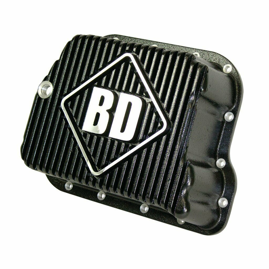 BD Diesel 727 518 47RH 48RE Deep Sump Trans Pan for 89-07 5.9L Dodge Cummins 12V 24V