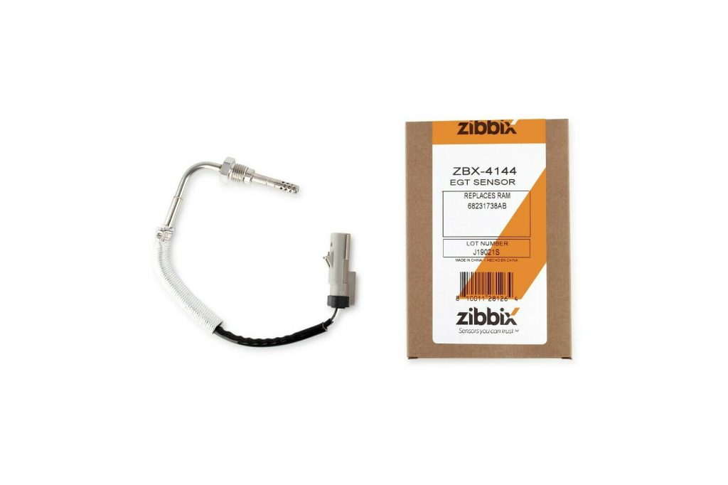Zibbix EGT Exhaust Gas Temperature Sensor for 3.0L 14-18 Ram