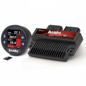 Banks Power BP61452 Six-Gun Tuner With iDash 1.8 DataMonster for 08-10 6.4L Ford Powerstroke