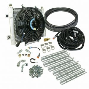 BD Diesel Auxiliary Trans Cooler for 91-99 Chevy 4L80