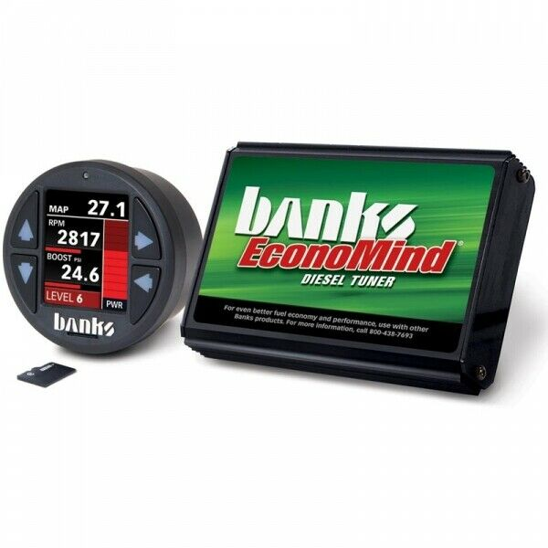 Banks Power BP61439 EconoMind Tuner With iDash 1.8 DataMonster for 01-04 6.6L Chevy GMC LB7 Duramax