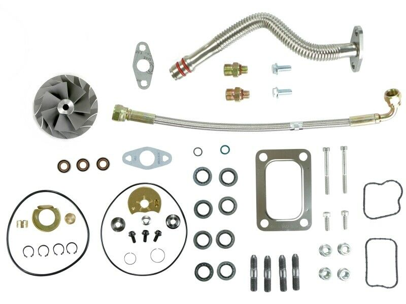 HE351VE Turbo Rebuild Kit Gaskets Lines Cast For 07.5-12 6.7L ISB Dodge Ram