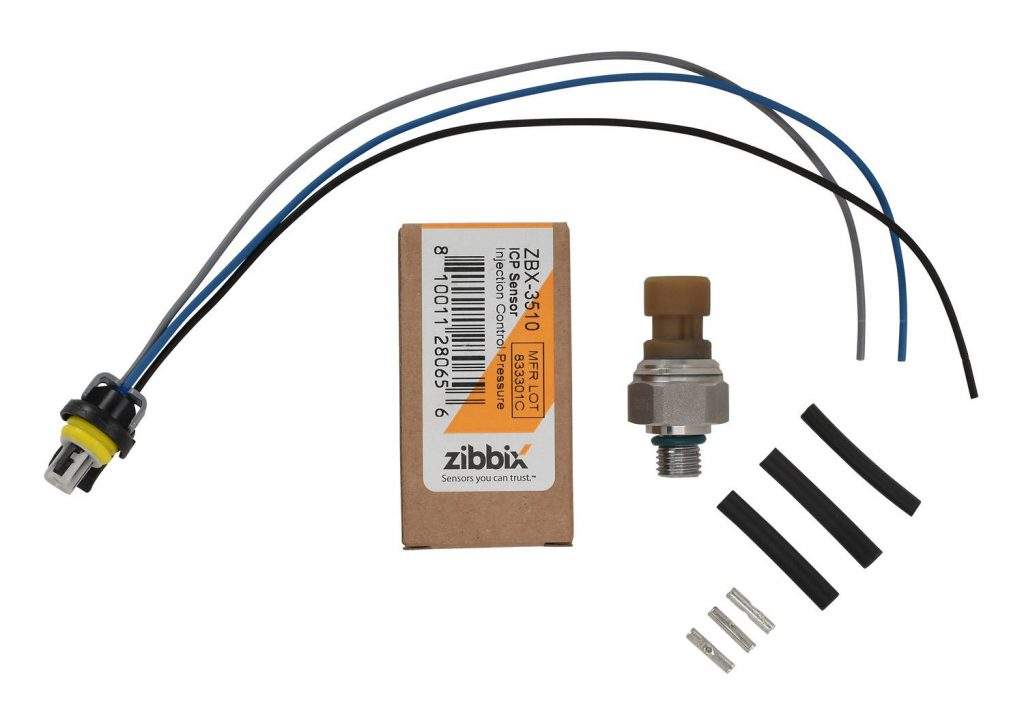 Zibbix ICP Injection Control Pressure Sensor Pigtail Kit for 04-10 6.0L Powerstroke