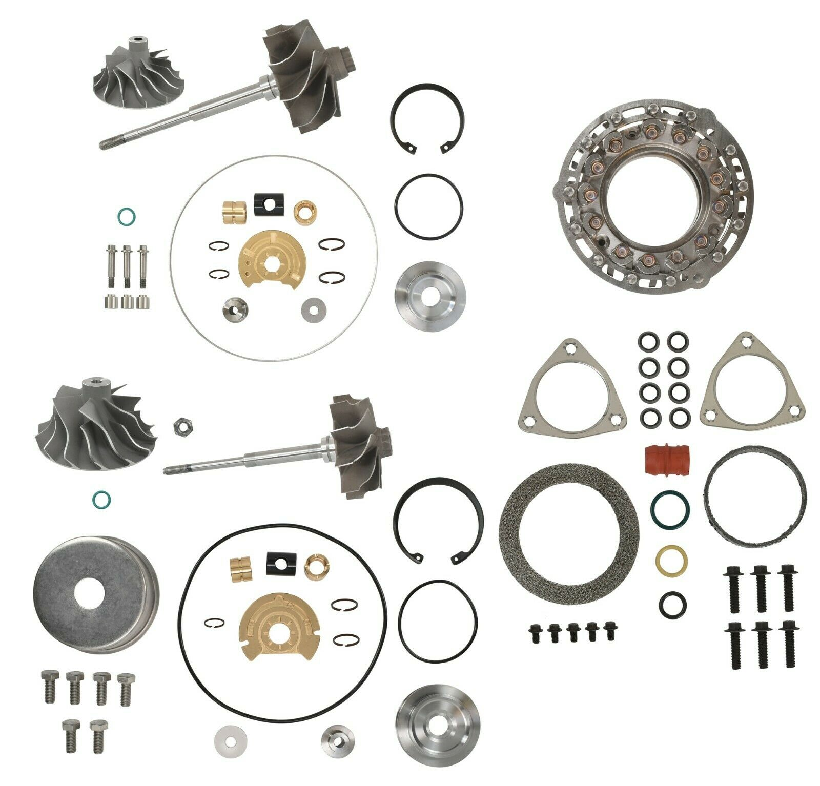 V2S Combo Master Turbo Rebuild Kit Cast For 08-10 6.4L Ford Powerstroke Diesel