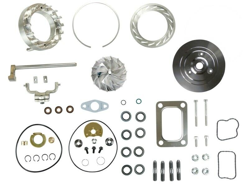 HE351VE Turbo Rebuild Kit Gaskets Plate VGT Billet For 07.5-12 6.7L Dodge Ram