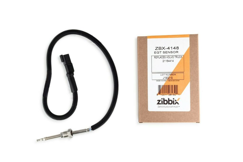 Zibbix EGT Exhaust Gas Temperature Sensor for 11-14 Mack and 11-17 Volvo