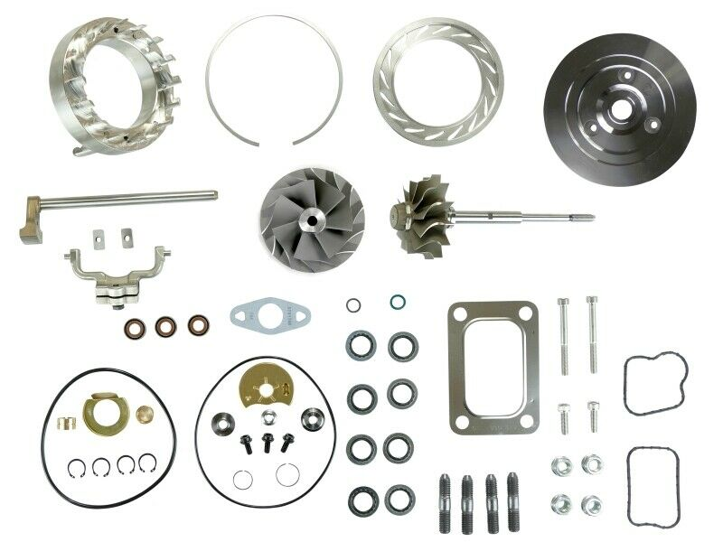 SPOOLOGIC HE351VE Turbo Rebuild Kit Gaskets Shaft Plate VGT Cast for 07.5-12 6.7L Cummins 24V