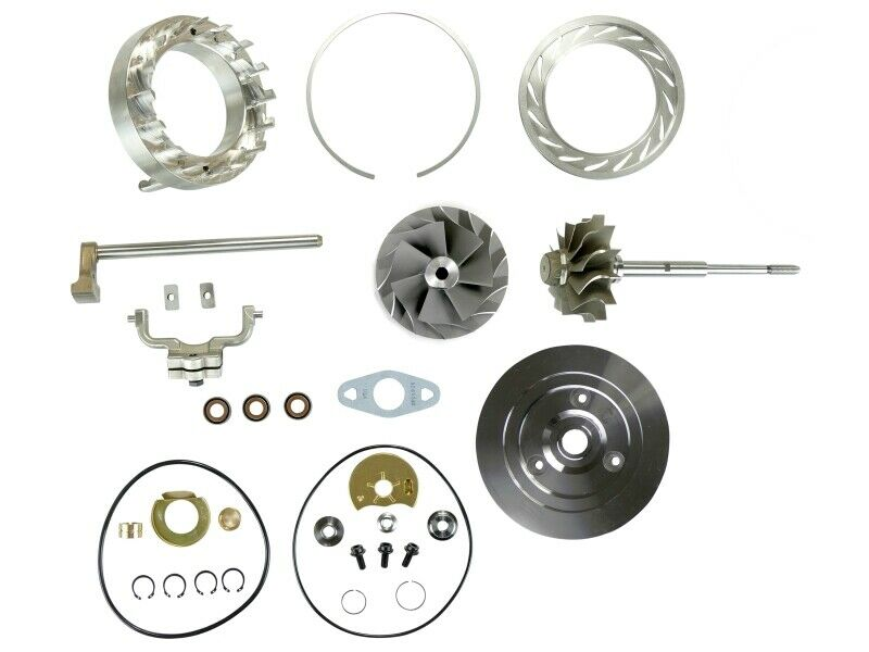 SPOOLOGIC HE351VE Turbo Rebuild Kit Shaft Plate VGT Cast for 07.5-12 6.7L Cummins 24V
