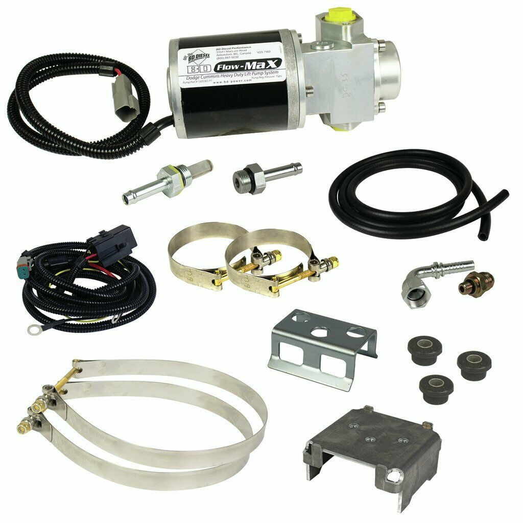 BD Diesel Flow-Max Fuel Lift Pump for 98.5-02 5.9L Dodge Cummins 24V