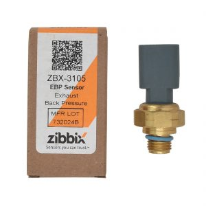 Zibbix EBP Exhaust Back Pressure Sensor for 04-18 5.9L 6.7L Cummins 24V ISC ISM ISX