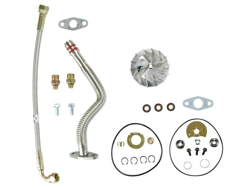 HE351VE Turbo Rebuild Kit Lines Billet For 07.5-12 6.7L Dodge Ram Cummins Diesel