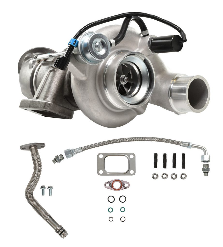 SPOOLOGIC HE351CW Stock Turbocharger with Cast Wheel for 04.5-07 5.9L Cummins 24V