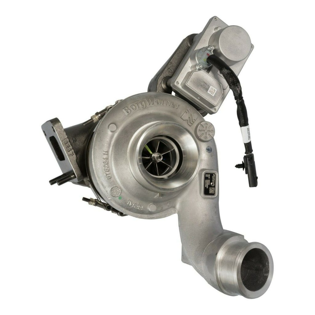 BorgWarner Reman Turbocharger for 07 7.6L Navistar DT466 MaxxForce DT