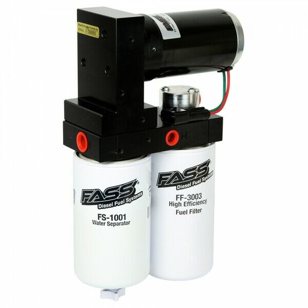 Fass Titanium Signature Series 165 GPH System for 08-10 6.4L Ford Powerstroke