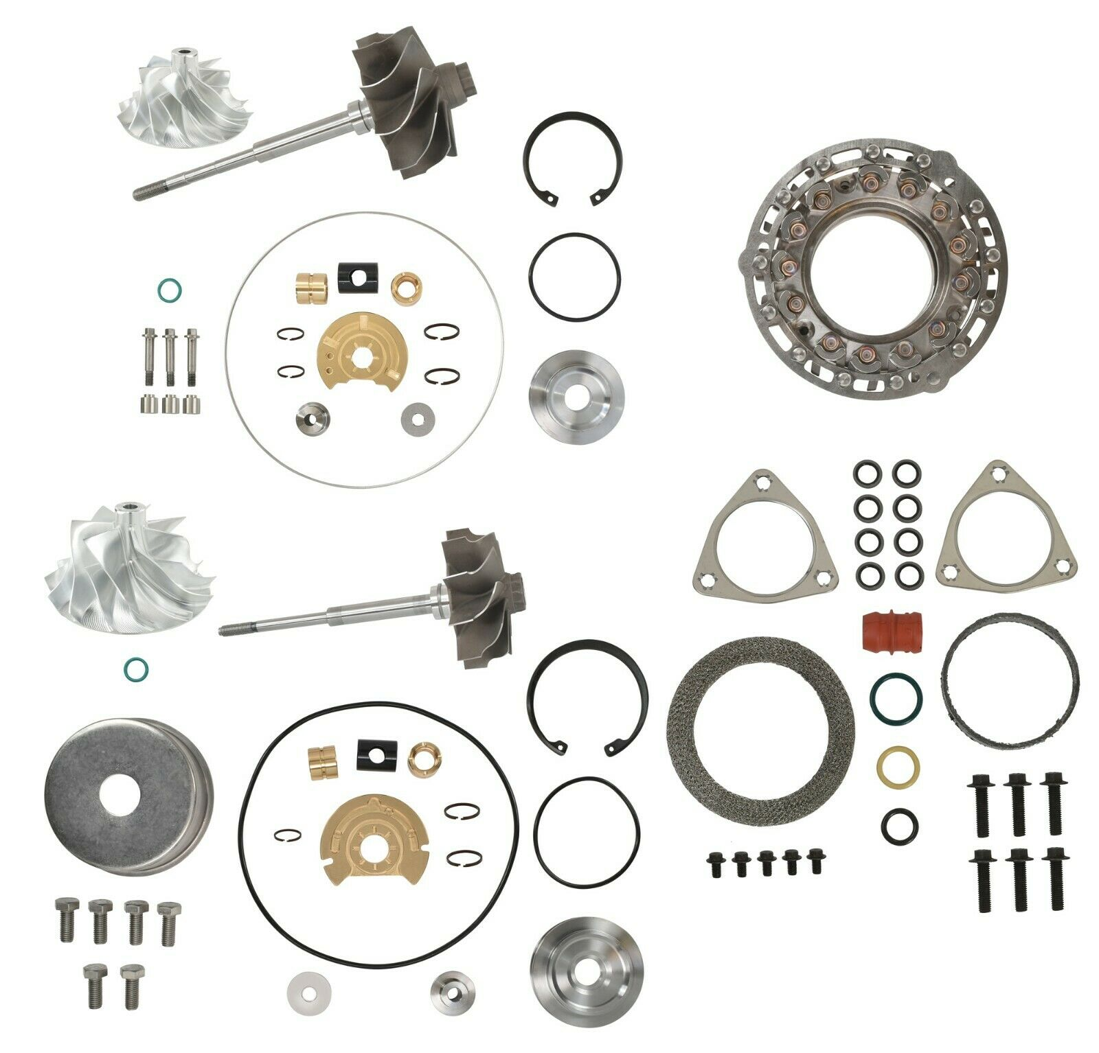 V2S Combo Master Turbo Rebuild Kit Billet For 08-10 6.4L Ford Powerstroke Diesel
