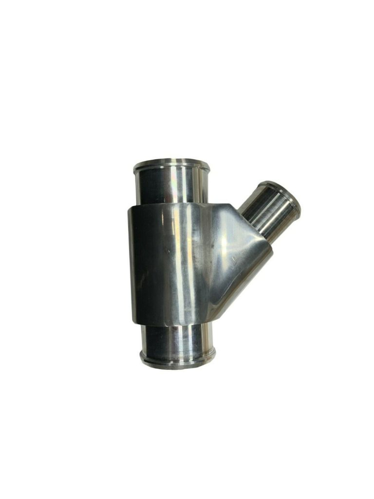 Dual Radiator Coolant Weldless Silver Y-Pipe for 13-15 6.7L Dodge Cummins