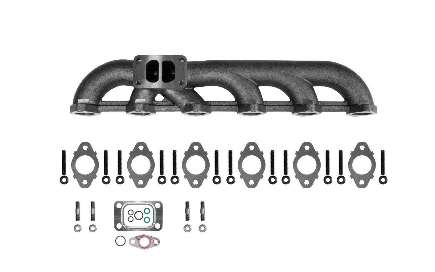 5.9L 03-07 Dodge Ram Upgraded High Flow Exhaust Manifold For Cummins