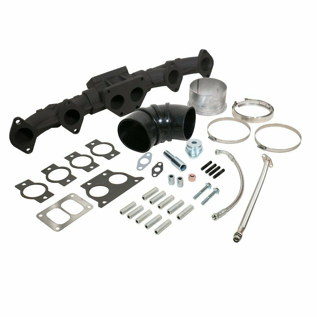 BD Diesel Manifold + Install Kit Pack for Pre-2002 Cummins ISX