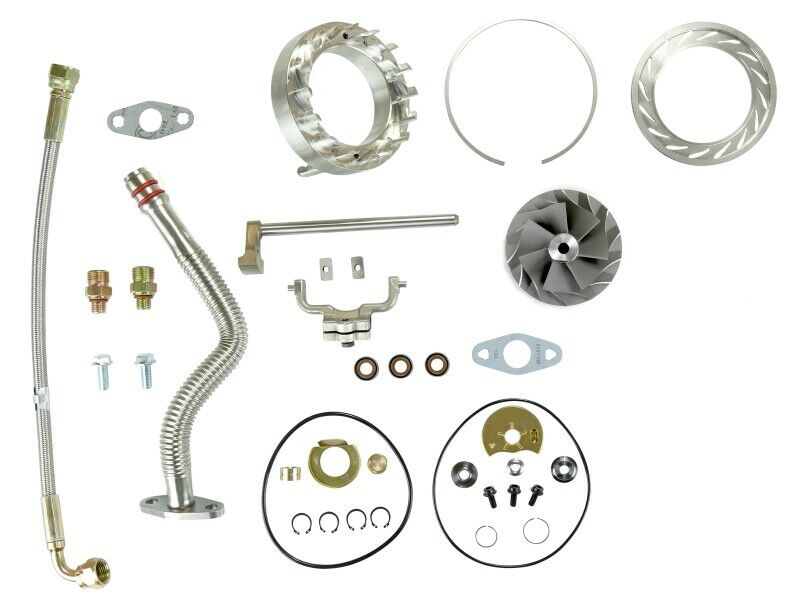 SPOOLOGIC HE351VE Turbo Rebuild Kit Lines VGT Cast for 07.5-12 6.7L Cummins 24V