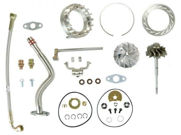 SPOOLOGIC HE351VE Turbo Rebuild Kit Lines Shaft VGT Billet for 07.5-12 6.7L Cummins 24V