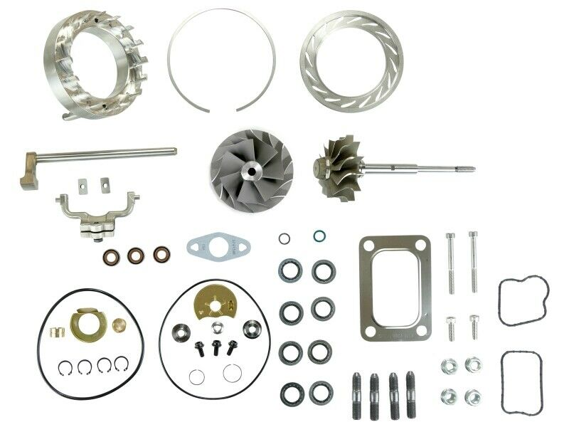 SPOOLOGIC HE351VE Turbo Rebuild Kit Gaskets Shaft VGT Cast for 07.5-12 6.7L Cummins 24V