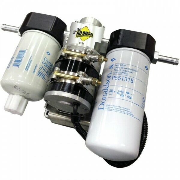 BD Diesel Flow-Max Fuel Lift Pump with Filter + Separator for 11-16 6.6L Chevrolet Duramax LML