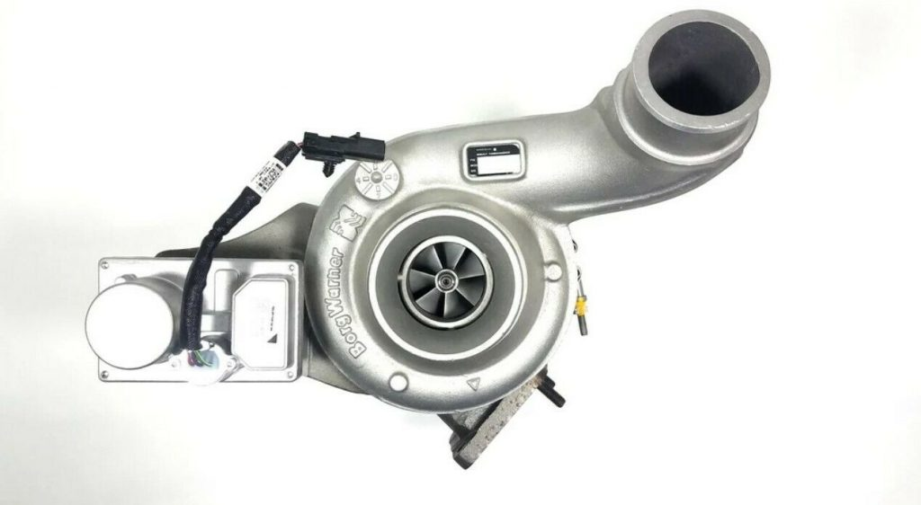 BorgWarner Reman Turbocharger for 03-08 7.6L Navistar DT466 MaxxForce DT