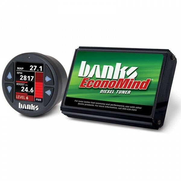 Banks Power BP61413 EconoMind Tuner With iDash 1.8 for 06-07 6.6L Chevy GMC LBZ Duramax