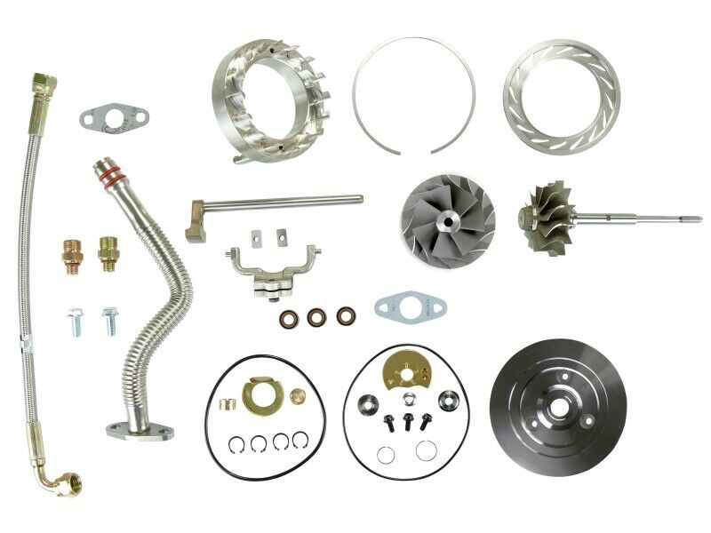 SPOOLOGIC HE351VE Turbo Rebuild Kit Lines Shaft Plate VGT Cast for 07.5-12 6.7L Cummins 24V