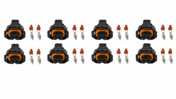 Set Of 8 Fuel Injector Connector for 04.5-10 LLY LBZ LMM Duramax