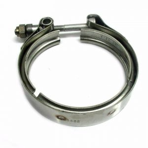 SPOOLOGIC H1C HX35 Exhaust Outlet V-Band Clamp for 89-02 5.9L Cummins 12V 24V