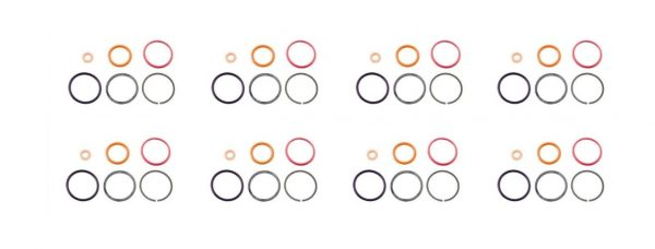 Set of 8 Injector O-Ring Kit for 94-03 7.3L Powerstroke