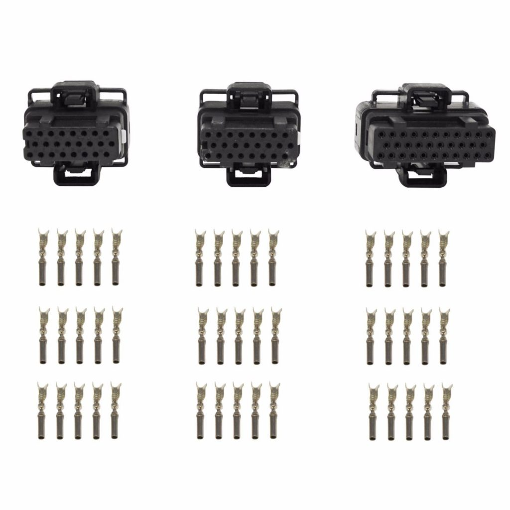 FICM Connector Kit + Terminals for 03-10 6.0L 4.5L Powerstroke