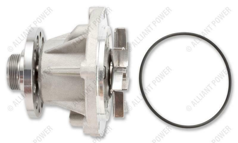 Alliant Power Water Pump for 04-07 6.0L Powerstroke 4.5L Navistar VT275 MaxxForce 5