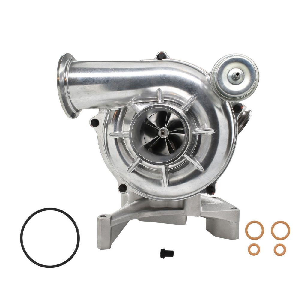 SPOOLOGIC GTP38 Turbocharger 5+5 Billet Wheel for 99.5-03 7.3L Powerstroke