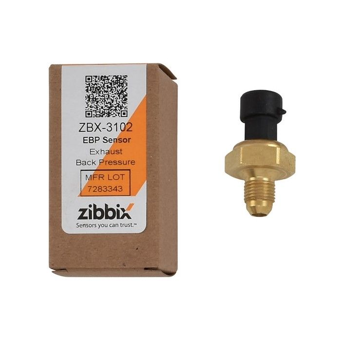 Zibbix ZBX-3102 EBP Exhaust Back Pressure Sensor For 05.5-10 6.0L Ford Powerstroke Diesel