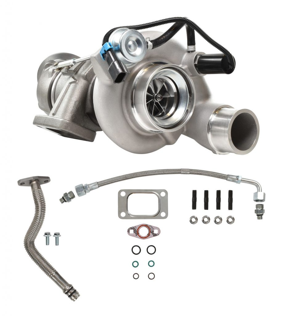 SPOOLOGIC HE351CW Turbocharger With Billet Wheel for 04.5-07 5.9L Cummins 24V