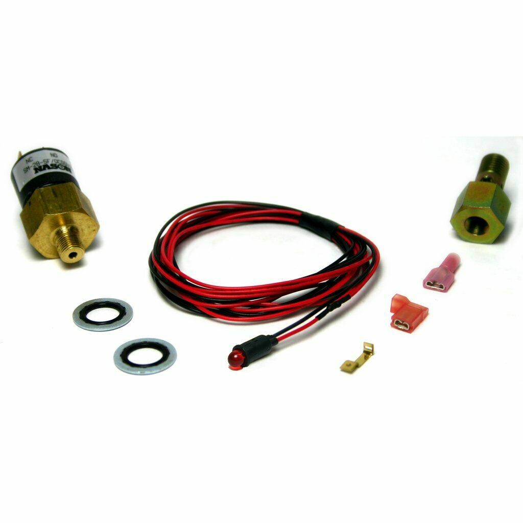 BD Diesel Amber LED Low Fuel Pressure Alarm Kit for 98.5-07 5.9L Dodge Cummins 24V