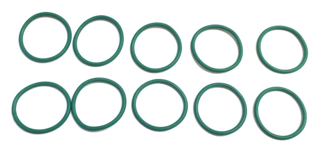Set of 10 Crankcase Ventilation Breather Seal O-Ring for 6.0L Powerstroke